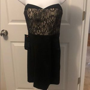 NWT Bebe Imperial Nights Strapless Bustier Dress 4